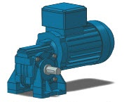 Right Angle Worm Gear Motors