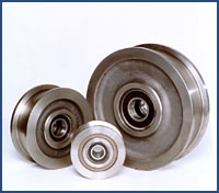 Double Flange Crane Wheels